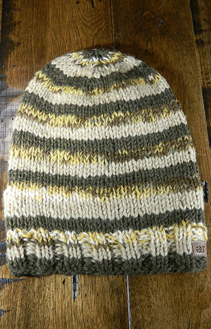 Hat - Kids Striped Toque 05