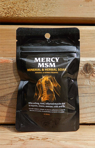Mercy MSM Mineral & Herbal Soak
