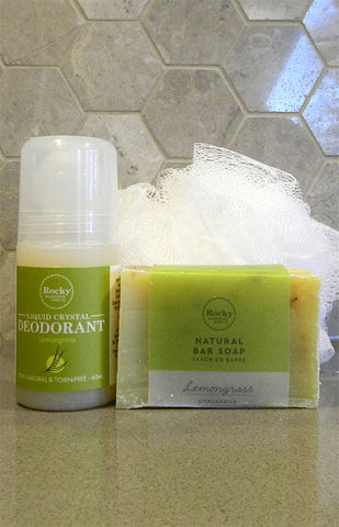 Better Together - Lemongrass Rocky Mountain Soap & Deodorant