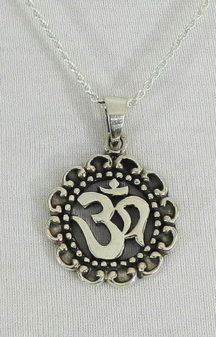 Sterling Silver Symbol Pendant 01