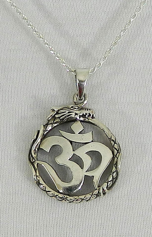 Sterling Silver Symbol Pendant 02