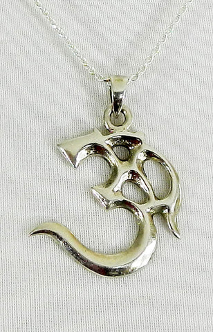 Sterling Silver Symbol Pendant 03