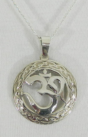 Sterling Silver Symbol Pendant 04