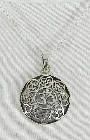 Sterling Silver Symbol Pendant 05