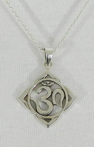 Sterling Silver Symbol Pendant 06
