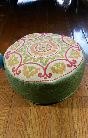 Bhakti Meditation Cushion Floral Mandala