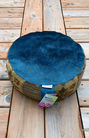 Bhakti Meditation Cushion Blue Heaven