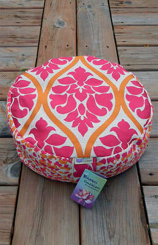 Bhakti Meditation Cushion Pink Flower