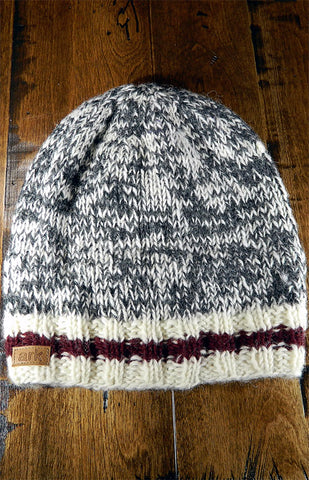 Hat - Charcoal Cabin Slouch Toque