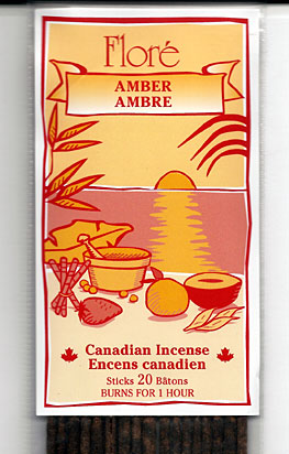 Flore Amber Incense