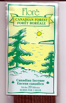 Flore Canadian Forest Incense Sticks