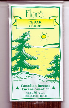 Flore Cedar Incense Sticks