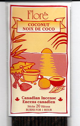 Flore Coconut Incense Sticks
