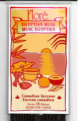 Flore Egyptian Musk Incense Sticks