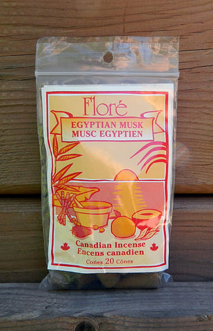 Flore Egyptian Musk Incense Cones