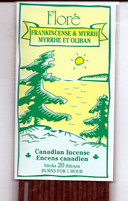 Flore Frankincense and Myrrh Incense Sticks