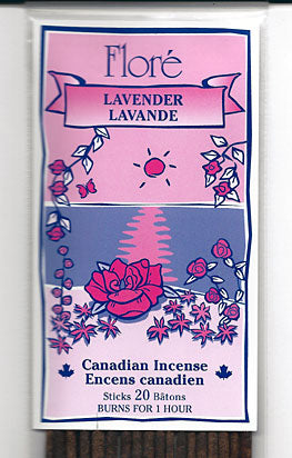 Flore Lavender Incense Sticks