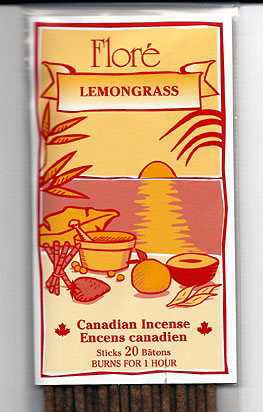 Flore Lemongrass Incense Sticks