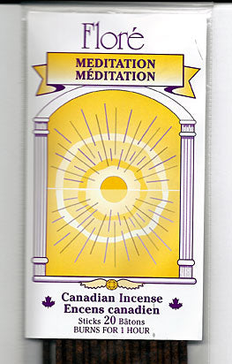 Flore Meditation Incense Sticks