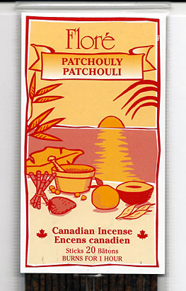 Flore Patchouli Incense Sticks