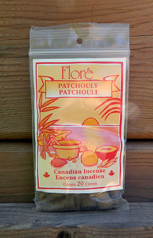 Flore Patchouli Incense Cones