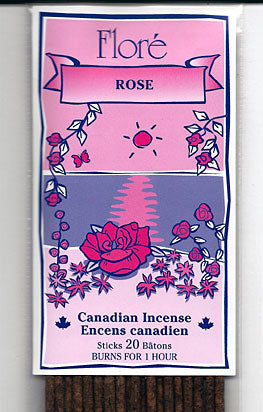 Flore Rose Incense