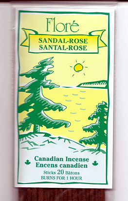 Flore Sandal Rose Incense