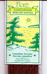 Flore Sandalwood Incense