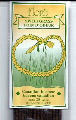 Flore Sweetgrass Incense Sticks