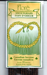 Flore Sweetgrass Incense