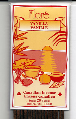 Flore Vanilla Incense Sticks
