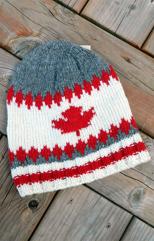 Hat - Maple Cabin Toque / Grey