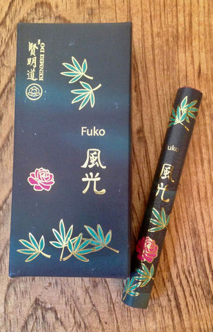 Japanese Incense Fuko - Frankincense & Rose