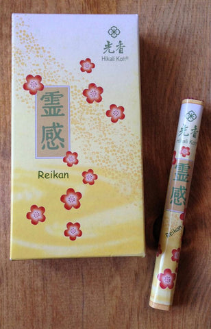 Japanese Incense Reikan - Inspiration