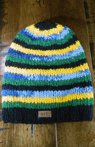 Hat - Kids Striped Toque 07