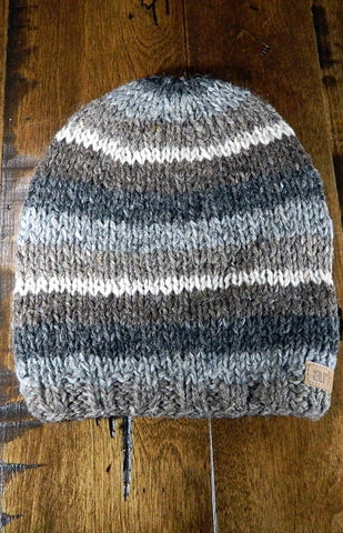 Hat - Kids Striped Toque 02