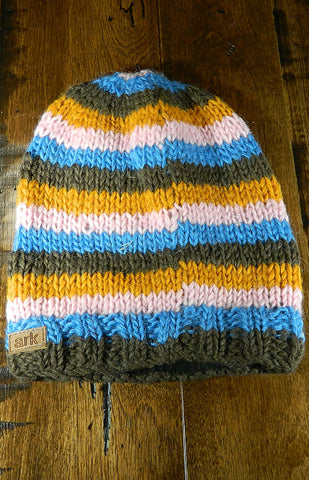 Hat - Kids Striped Toque 03