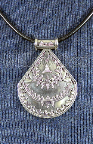 Sterling Silver Large Pendant 11