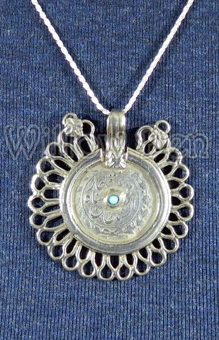 Sterling Silver Large Pendant 14