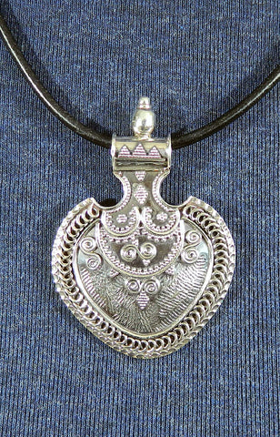 Sterling Silver Large Pendant 16