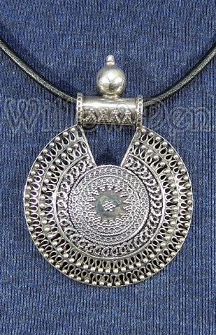 Sterling Silver Large Pendant 01