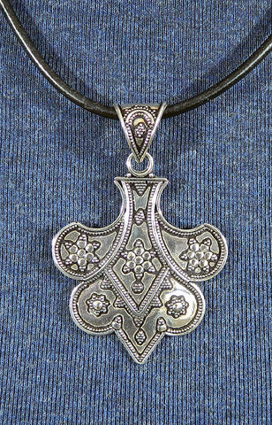 Sterling Silver Large Pendant 21