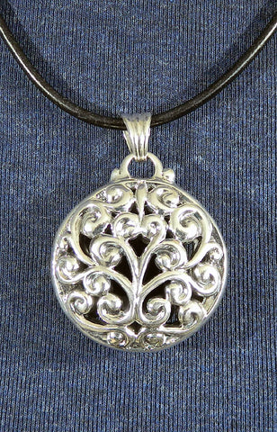 Sterling Silver Large Pendant 23