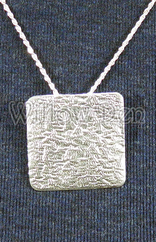 Sterling Silver Large Pendant 27