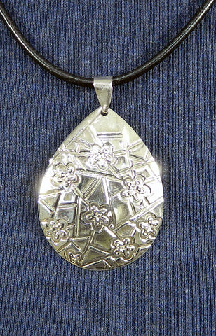 Sterling Silver Large Pendant 28