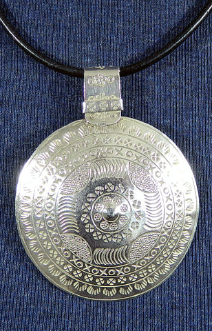 Sterling Silver Large Pendant 31