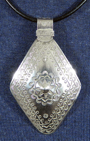 Sterling Silver Large Pendant 32