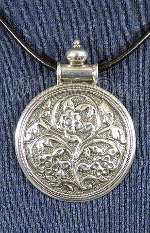 Sterling Silver Large Pendant 04