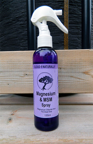 Magnesium and MSM Spray