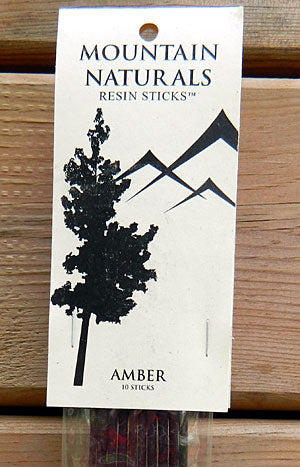 Mountain Naturals Amber Resin Incense